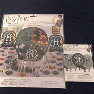 New Unopened Harry Potter Party Decor